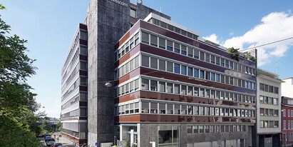 Bright office space available to rent on a temporary basis (until 31 March 2023), located between Basel SBB railway station and Steinenvorstadt.