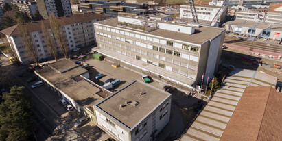 26 m² – 72 m² (Total 203 m²) Office space in the Breitenrain district near the Stade de Suisse available to rent