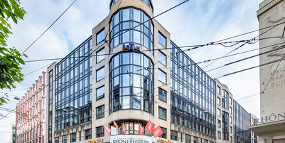 921 m2 office space for rent at the heart of the business district of  Geneva at the Rue du Commerce 3–7