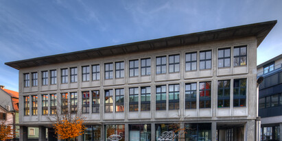 Bright retail space in the centre of Grenchen available to rent by arrangement.