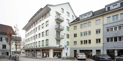 In the center of Langenthal, we rent this expanded office space with a total area of 77 m².