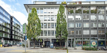 In the middle of Zurich's business district, we are renting out high-end Building free office space with 495 m2.