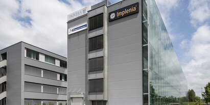 We rent 414 m2 top modern and well-developed office space on the ground floor of Businesspark Wallisellen.